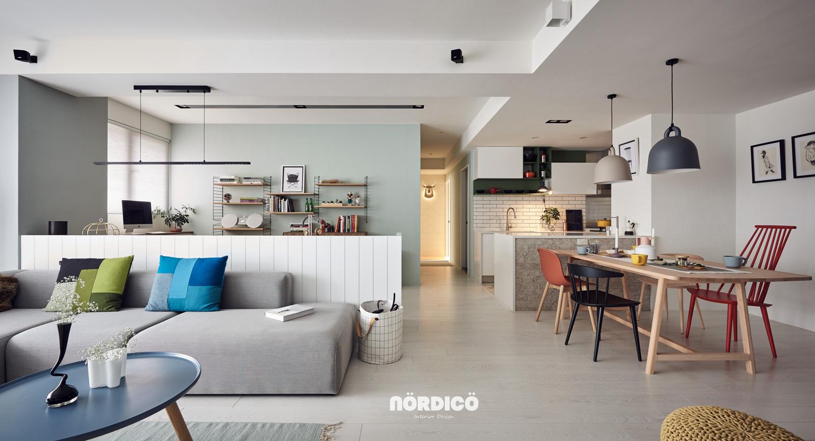现代简约风格的旧房整体翻新后的效果